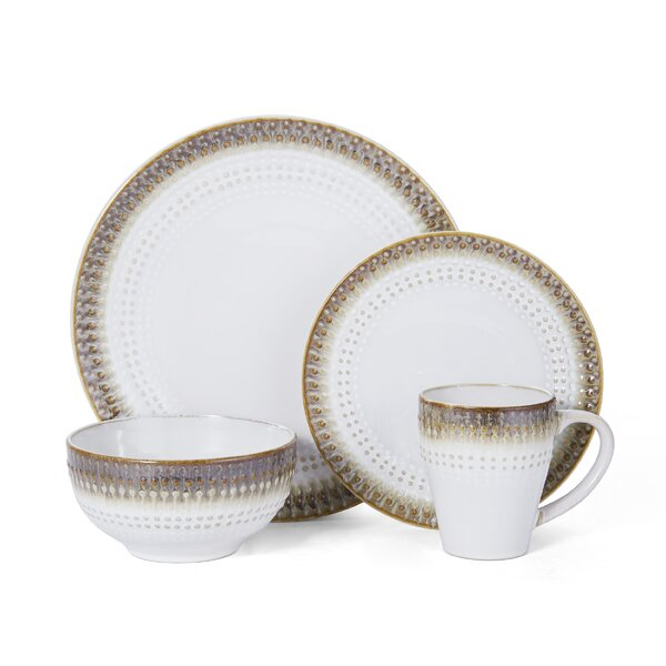 Celina 16 Piece Dinnerware Set, Service for 4 by Pfaltzgraff