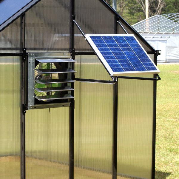Monticello Solar Powered Ventilation System by Riverstone Industries