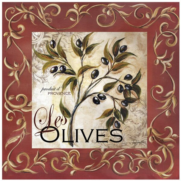 Olive Scroll Occasions Trivet by Thirstystone