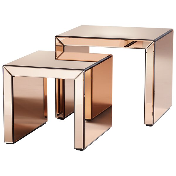 Abigail 2 Piece Nesting Tables by Cyan Design