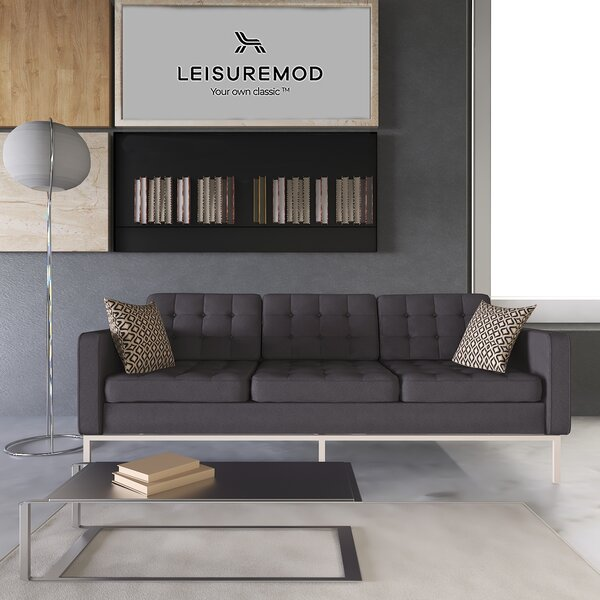 A Wide Selection Of Lorane Sofa by LeisureMod by LeisureMod