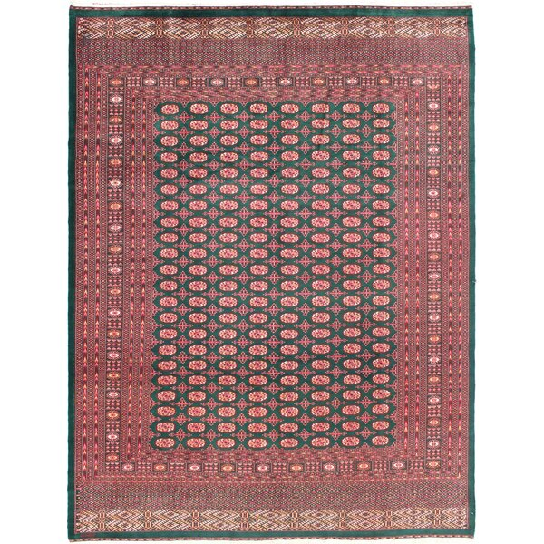 One-of-a-Kind Rolston Hand-Woven Wool Red Area Rug by Bloomsbury Market