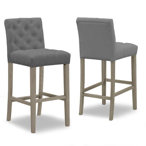 Georgio 29 Bar Stool (Set of 2) by One Allium Way