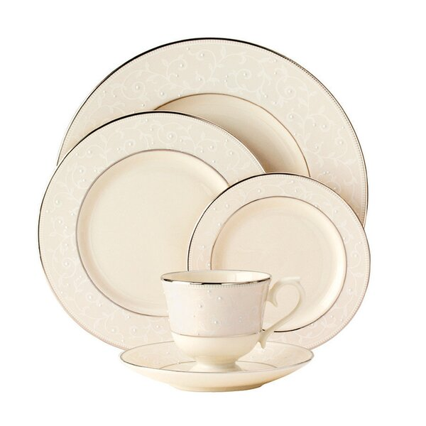 Pearl Innocence 5 Piece Place Setting, Service for 1 by Lenox