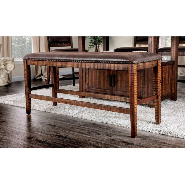 Ashlyn Nailhead Bench by Loon Peak