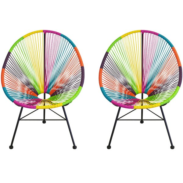 Masten Patio Chair (Set of 2) by Bungalow Rose Bungalow Rose
