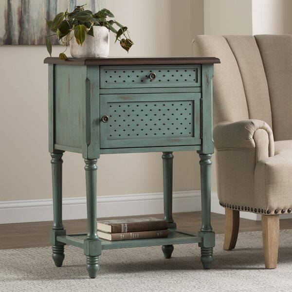 Dominick End Table by World Menagerie