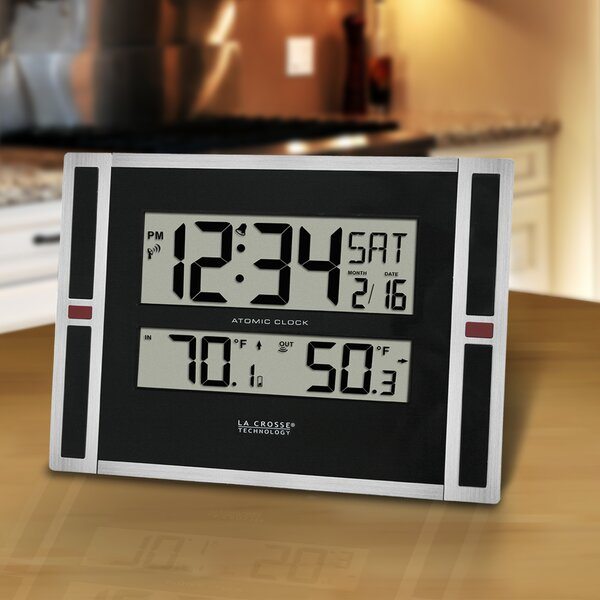 11 WWVB Digital Desktop Clock by La Crosse Technology