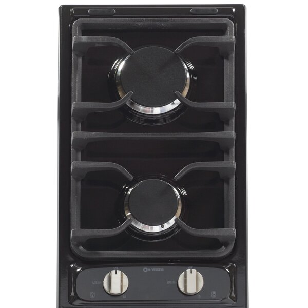 Deluxe 12 Gas Cooktop with 2 Burners by Verona
