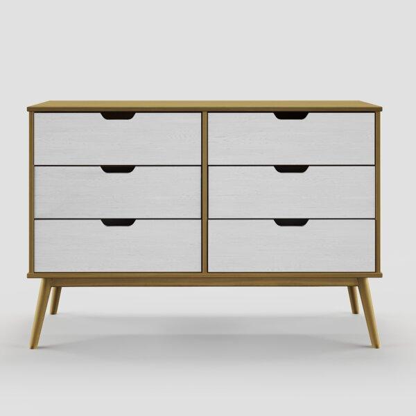 Roznin 6 Drawer Double Dresser by Brayden Studio