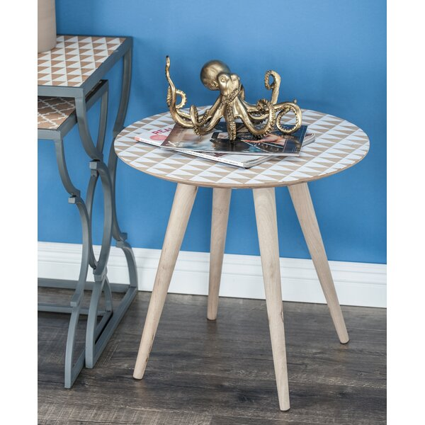 Groveport End Table by Wrought Studio