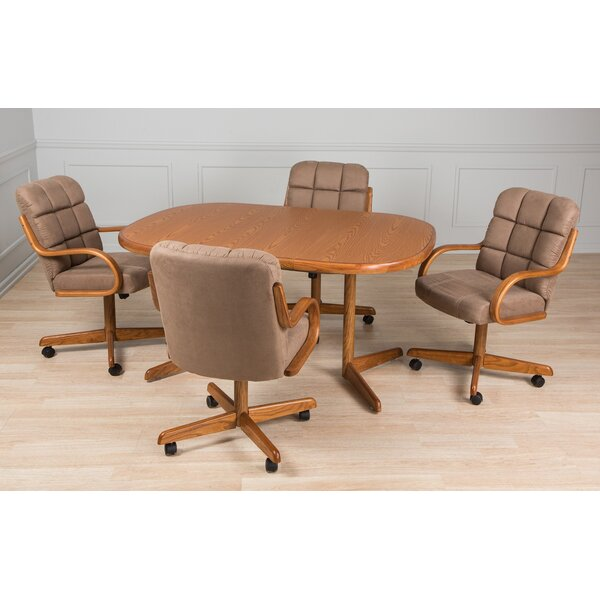 Dining Sets With Caster Chairs | Wayfair
