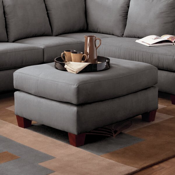 Wakeland Ottoman by Ebern Designs