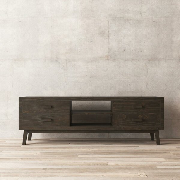Alloway Solid Wood TV Stand For TVs Up To 75