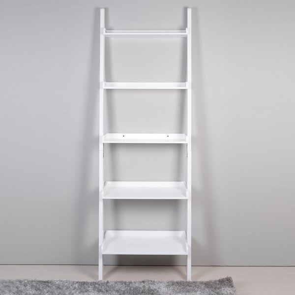 5 Tier Leaning Bookcase by ViscoLogic