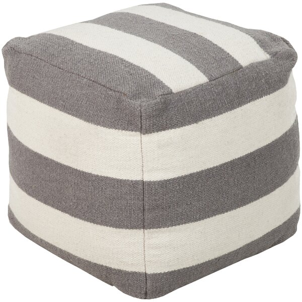 Littleton Pouf by Breakwater Bay