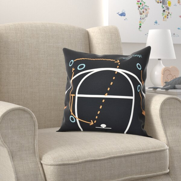 Bauer Alley Oop! Throw Pillow by Zoomie Kids