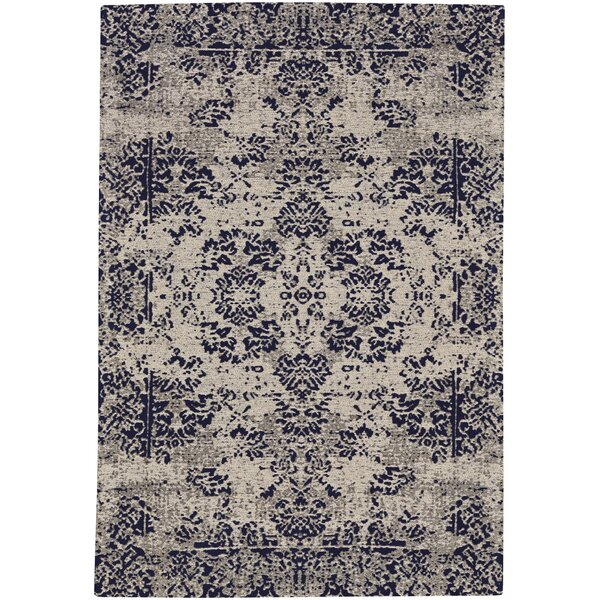 Edinburgh Navy Area Rug by Bungalow Rose