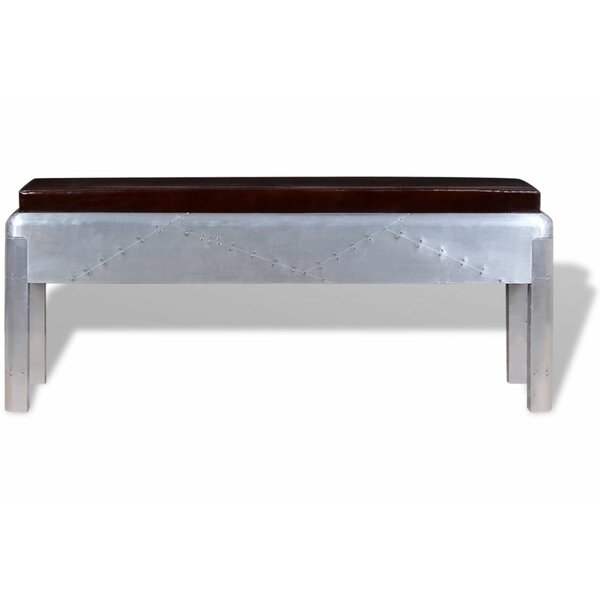 Kimberlee Upholstered Bench by Williston Forge Williston Forge