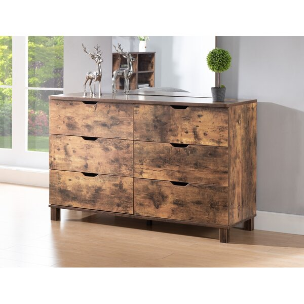 Raminez Creative 6 Drawer Double Dresser by Union Rustic