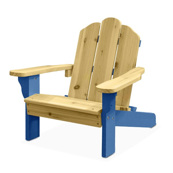 Garett Kids Plastic Adirondack Chair by Harriet Bee
