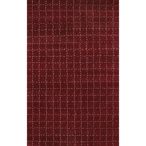 Gracen Cranberry Area Rug by Bloomsbury Market