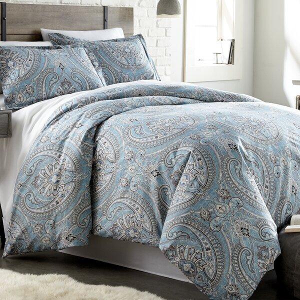 Hesson Reversible Comforter Set by Charlton Home