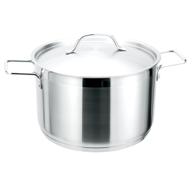 Strauss Pro Ind Stainless Steel with Lid by MyCuisina