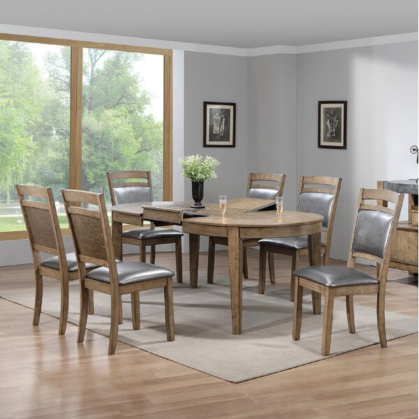 Warthen 7 Piece Dining Set by Gracie Oaks