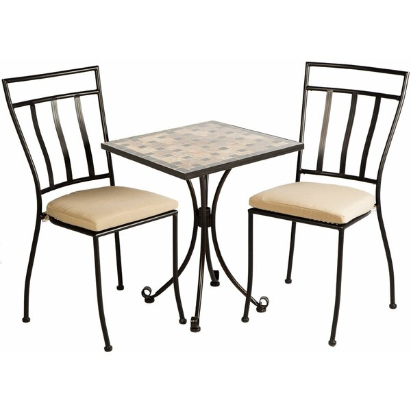 Dallastown 3 Piece Bistro Set by Darby Home Co