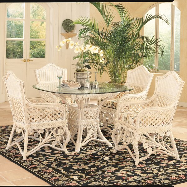 Gazebo Dining Table by Yesteryear Wicker