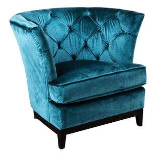 Grajeda Tufted Barrel Chair by Bloomsbury Market