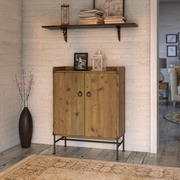 Ironworks Bar Cabinet By Kathy Ireland Home By Bush Furniture