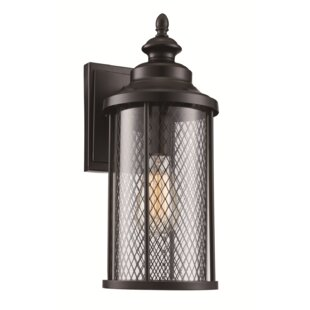 Great choice Torrence 1-Light Outdoor Wall Lantern By Laurel Foundry Modern Farmhouse