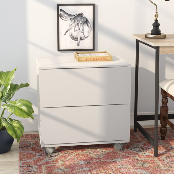 Duave Lateral 2 Drawer Storage Cabinet