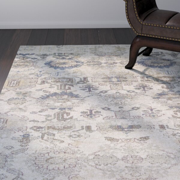 Latta Ivory Area Rug by World Menagerie