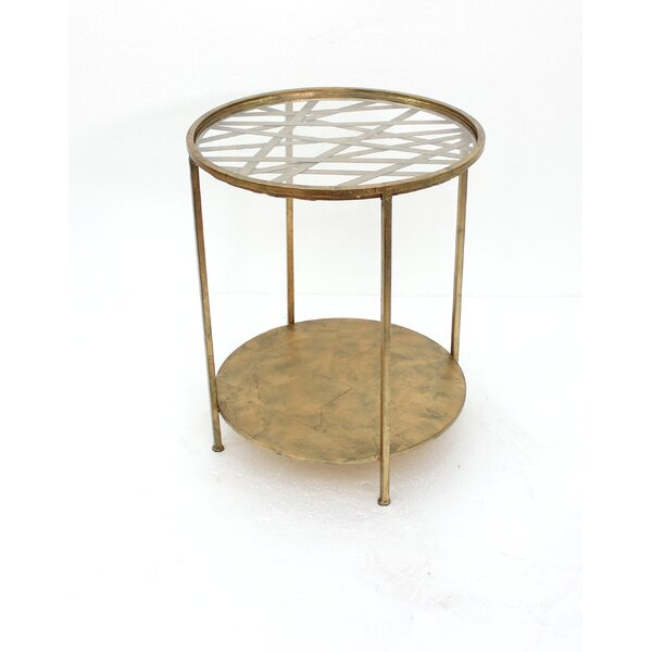 Leisa End Table by Everly Quinn