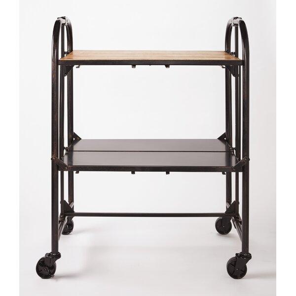 Folding Bar Cart by Artesa
