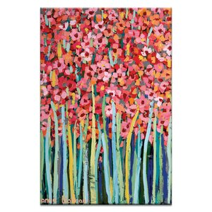 Jonquils by Anna Blatman Painting Print on Canvas by Artist Lane