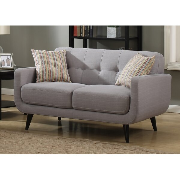 Popular Tifton Mid-Century Loveseat by Ivy Bronx by Ivy Bronx