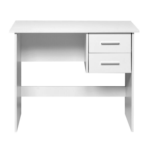 Wrenn 2 Drawers Writing Desk by Zipcode Design