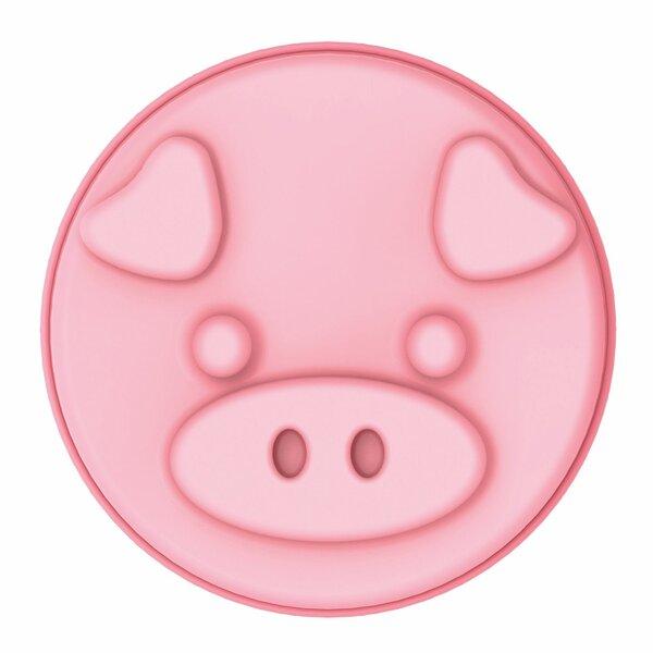 Non-Stick Pig Round Silicone Cake Mold by Innoka