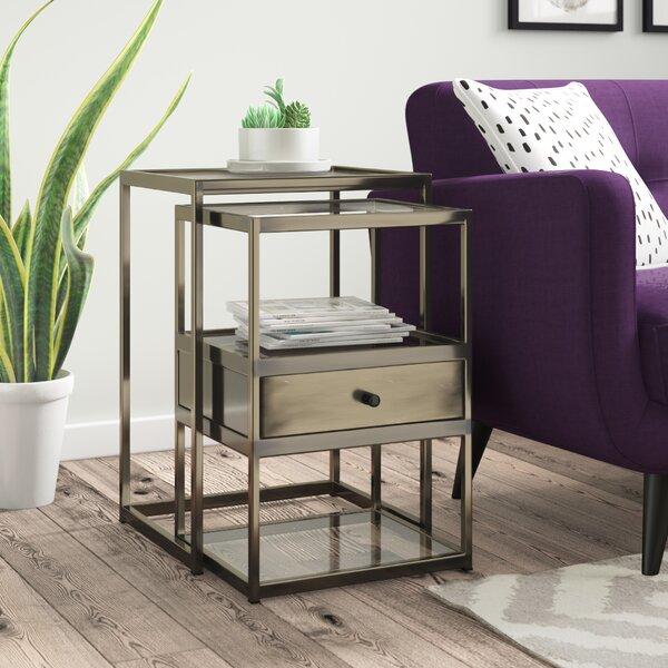 Branscome 2 Piece Nesting Tables By Brayden Studio