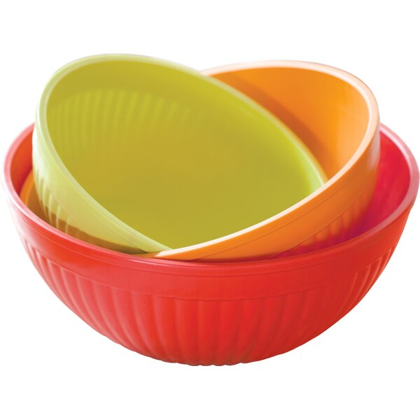 Steffey 3 Piece Prep and Serve Mixing Bowl Set by Alcott Hill