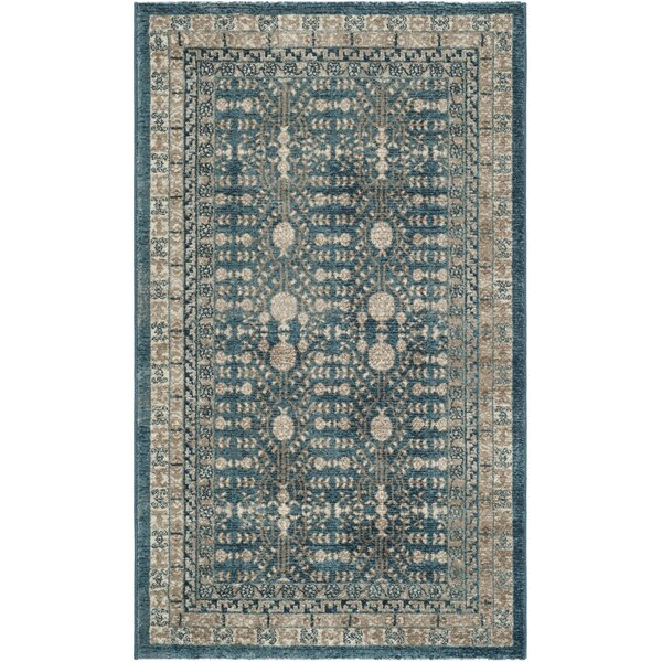 Bristol Woods Blue Area Rug by Charlton Home
