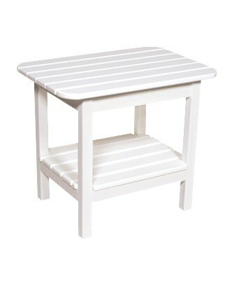 Delvale Plastic Side Table by Highland Dunes