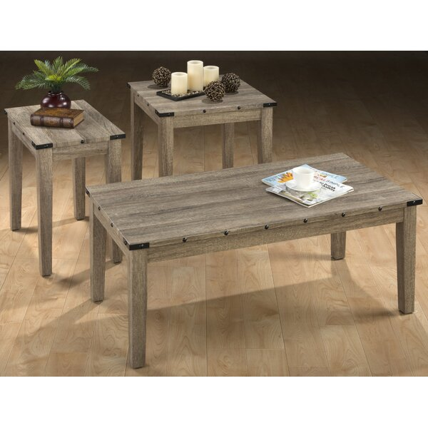 Laidley 3 Piece Coffee Table Set by Millwood Pines