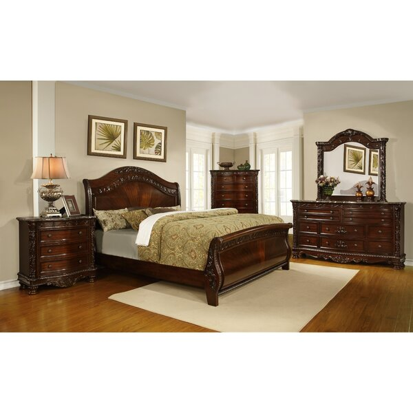Caban Sleigh Configurable Bedroom Set by Astoria Grand