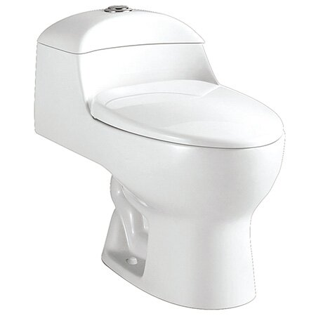 Congress 1.6 GPF Elongated One-Piece Toilet by Elements of Design