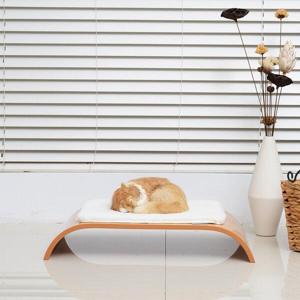Sleeping Breathing Cat Perch by Pawhut